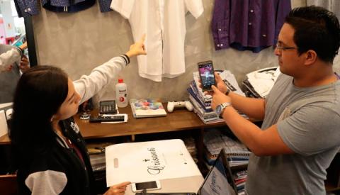 Gamarra ofrece el 40% de descuento en compras por internet