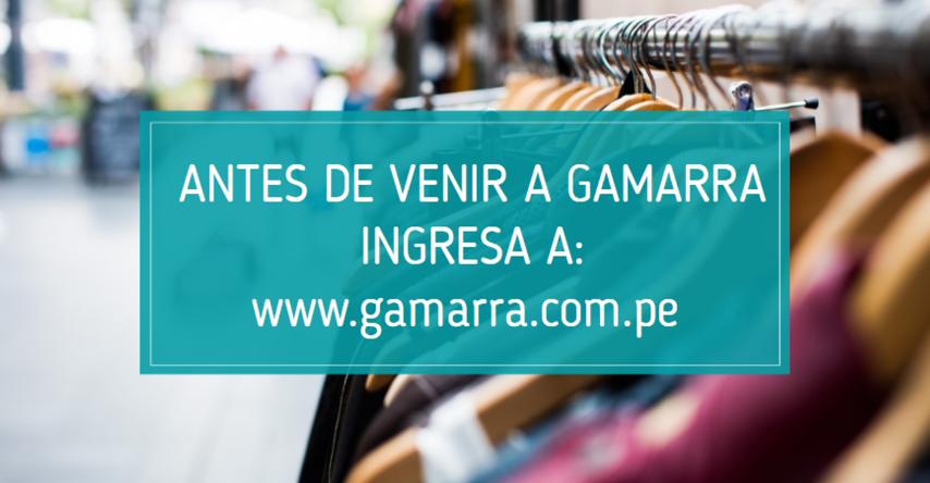 Tiendas en Gamarra
