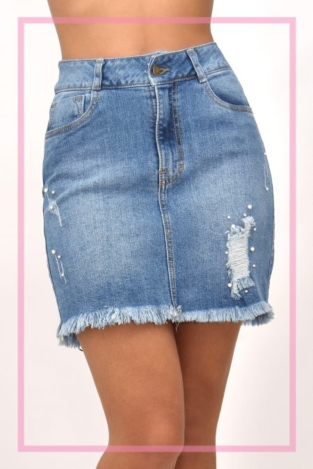 9974dccb1 Faldas Jeans | Gamarra - Ropa en Perú