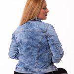 Casaca Jeans Con Forrado Interno 2