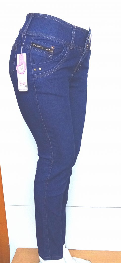Pantalon Jeans Para Dama Clasico Gamarra Ropa En Peru