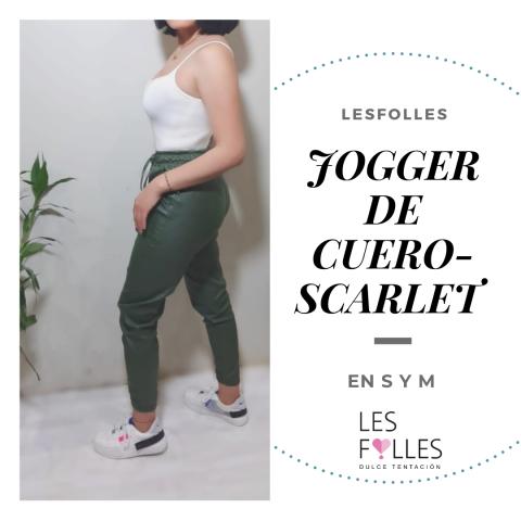 Jogger Cuero Latex Dama Gamarra Ropa En Peru