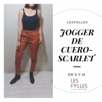 JOGGER DE CUERO LATEX 5
