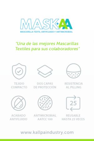 Mascarilla de tela para empresas Perú