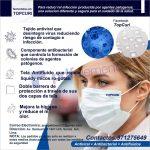 MASCARILLAS BOBLE CAPA 100% ALGODON. con tecnologia PROBLOCK