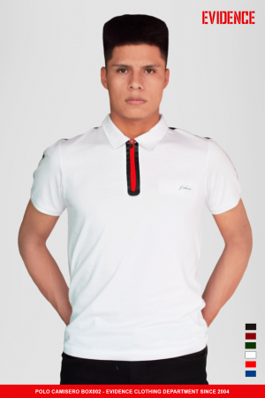 POLO CUELLO CAMISERO #BOX002