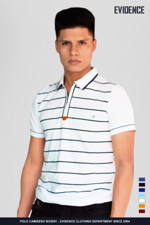 POLO CUELLO CAMISERO #BOX003