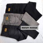 jeans para varon negro plomo