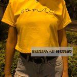 top amarillo oro