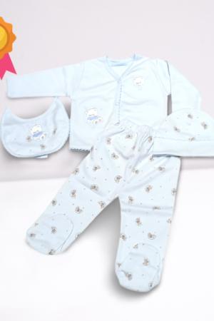 Ajuar algodón pima bebé